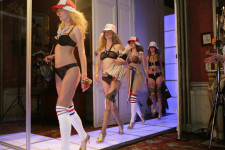 marlies|dekkers show 'So Dutch' // Paris 2008 in 'Lagerfeld house'